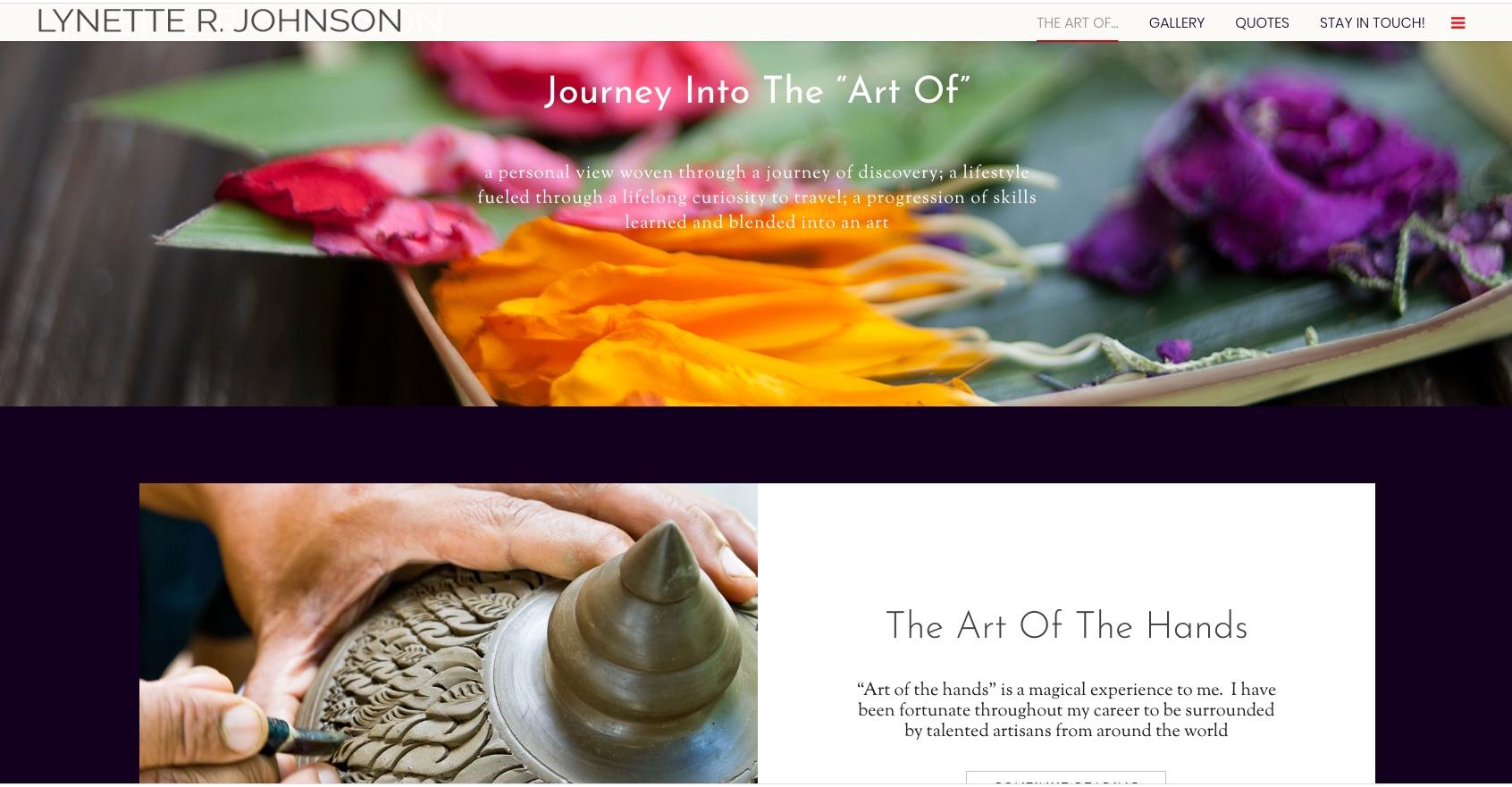 The Art Of website